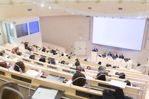 Audience in the conference hall.